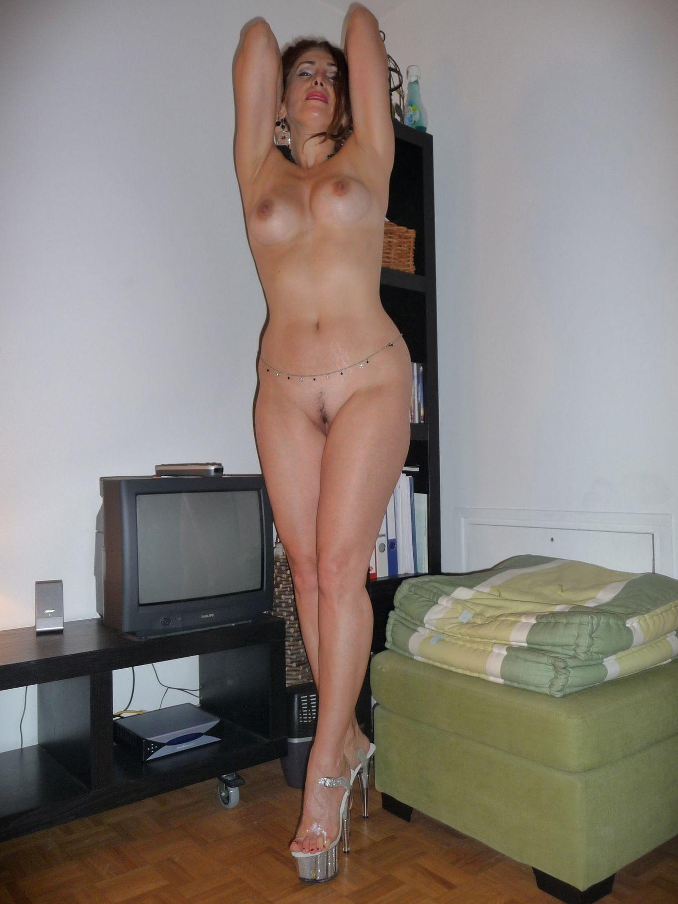Роскошная голая матюрка