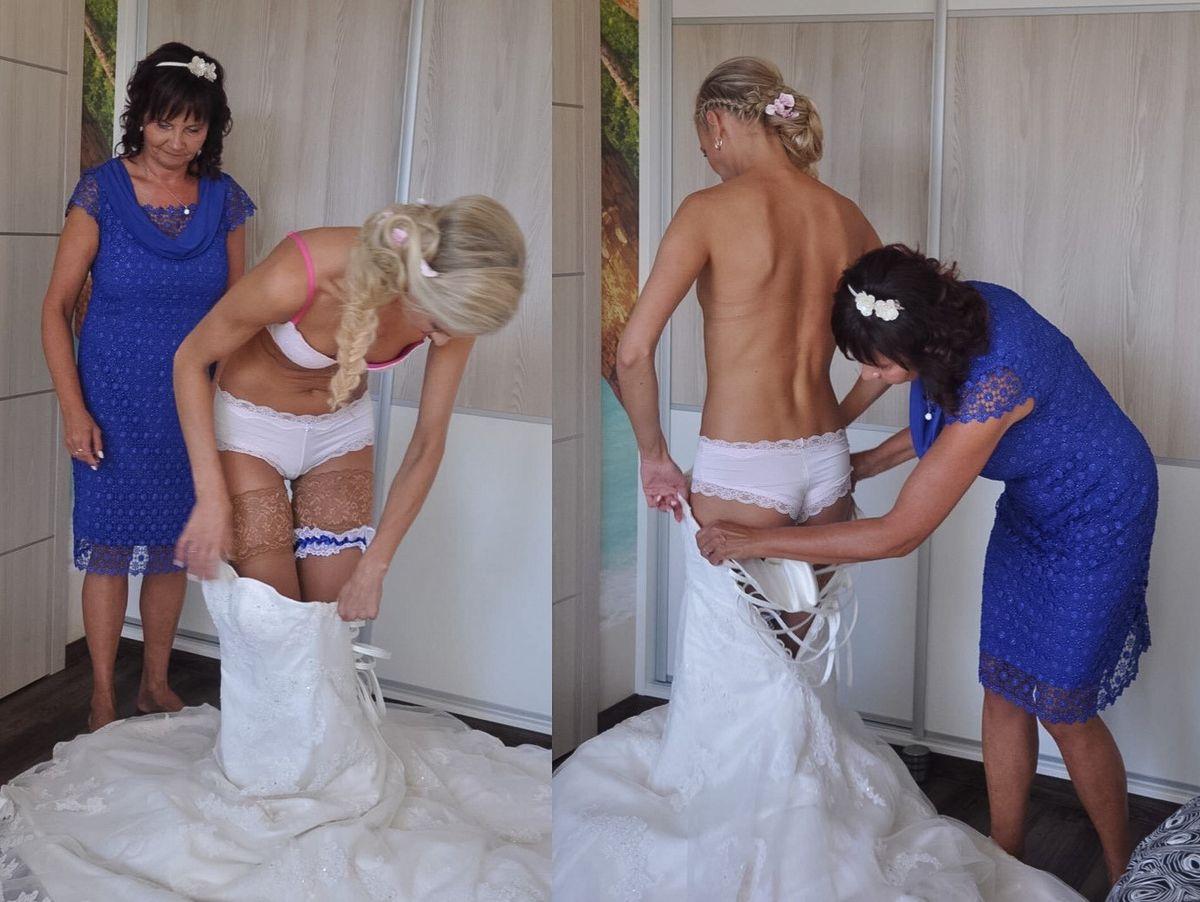 Подглядки невест - подборка 007